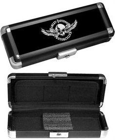 Harley Davidson® Skull With Wings Dart Case 61938