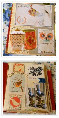 """Make an """"inspiration book"""": Maryannmoss"""