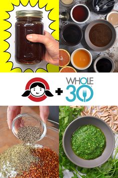 Whole30 Prep should include making these three essential flavor boosters: Arugula Pesto, Magic Mushroom Powder, and All-Purpose Stir-Fry Sauce!