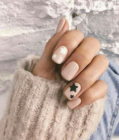 Star Nail Designs Pictures white and black star nails Star Nail Designs. Here is Star Nail Designs Pictures for you. Star Nail Designs white and black star nails. Winter Nails, Summer Nails, Spring Nails, Fall Nails, Nude Nails, Acrylic Nails, Star Nail Designs, Nail Polish, Star Nails