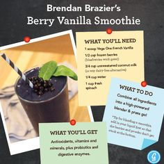 Find out how former professional triathlete Brendan Brazier fuels his runs, bikes, and swims with a plant-based diet. And try out one of his go-to smoothies! https://greatist.com/health/brendan-brazier-interview