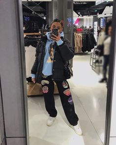 Image in A. clothes collection by Kally on We Heart It Tomboy Outfits, Chill Outfits, Tomboy Fashion, Cute Casual Outfits, Mode Outfits, Retro Outfits, Streetwear Fashion, Stylish Outfits, Fashion Outfits