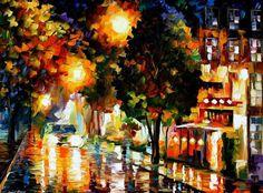 Leonid Afremov - The Glowing Night