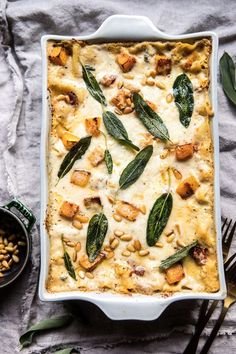 Butternut Squash and Sun-Dried Tomato White Lasagna | halfbakedharvest.com