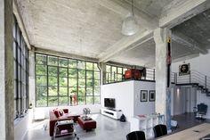 Modernes Loft in alter Fabrik https://www.homify.de/ideenbuecher/24391/modernes-loft-in-alter-fabrik