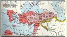 Asia Minor as organized by Pompey