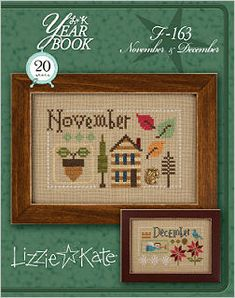 F163 November December Yearbook Double Flip -- Click to see our finished models