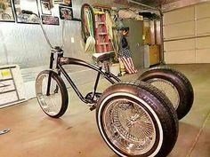 Trike Scooter, Tricycle Bike, Trike Bicycle, Recumbent Bicycle, Old Bicycle, Cruiser Bicycle, Cool Bicycles, Cool Bikes, Lowrider Bicycle