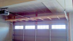 Garage Shelves | ft. shelves over garage door