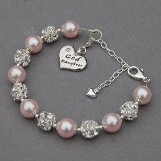 Goddaughter Gift, Goddaughter Jewelry, Goddaughter Charm Bracelet