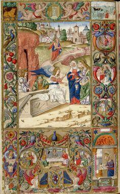 Oficios de la semana-Andrea Matteo Acquaviva- Sur de Italia 1519