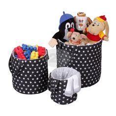 Pomozte dětem, aby si zvládly jednoduše a přehledně udržovat svůj pokojíček v čistotě. Dejte hračkám, prádlu, dekám a polštářkům své místo v úložném koši. Plastic Laundry Basket, Kos, Organization, Home Decor, Getting Organized, Organisation, Decoration Home, Room Decor, Tejidos