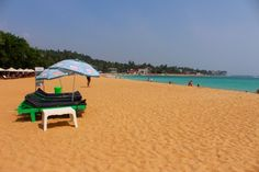 Unawatuna beach is nice! Don't believe the things you read to the contrary.