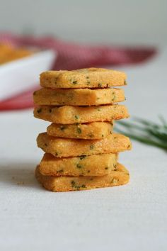 Cheddar and Chive Crackers