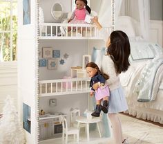 Woodbury Gotz Doll House - Standard UPS Delivery