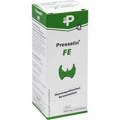 PRESSELIN FE Tropfen:   Packungsinhalt: 50 ml Tropfen PZN: 03769882 Hersteller: COMBUSTIN Pharmaz. Präparate GmbH Preis: 9,63 EUR inkl.…