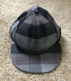 a20807e9d15 Nike 6.0 Fleece Plaid Hat Cal Fitted 7-1 4 100% Cotton RARE Skateboarding   fashion  clothing  shoes  accessories  mensaccessories  hats (ebay link)