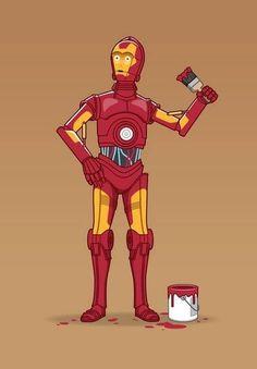 Ironman envy. Star Wars