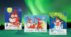 Joulupostimerkki Petra, Stamps, Seals, Postage Stamps, Stamp