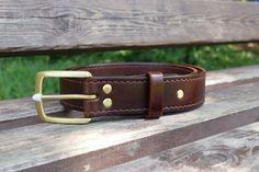 Ремень Handmade, leather belt, ручная работа. Дорогой подарок, как для коллеги так и для близкого родного человека