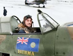 Squadron Leader Robert Stanford-Tuck DSO., CO of Nº. 257 (Burma) Squadron, in the cockpit of his Hawker Hurricane Mark I, V6864 'DT-A', at RAF Coltishall, Norfolk. January 1941. In January 1941, Tuck was awarded the Distinguished Service Order (DSO)