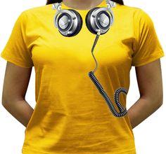 Camiseta DJ - Technics - Baby-look