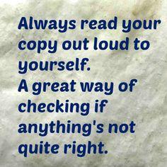 #writing #copywriting Find out more at: http://caroleseawert.co.uk