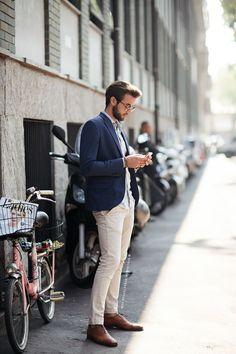 Dressed like a man I adore...Stefano de luca |  Streetstyle