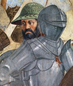 Piero della Francesca - Battle Between Heraclius and Chosroes. Detail. 1452 - 1466