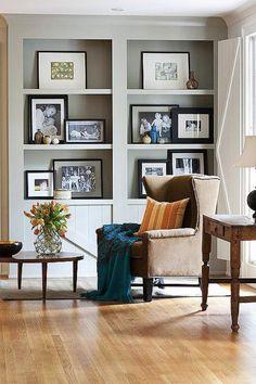 ideas for decorating shelves