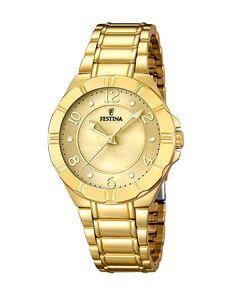 Ρολόι FESTINA Ladies Gold F16727/1