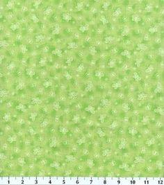 Keepsake Calico - Etchings Butterlies Green