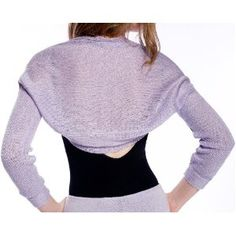 Made To Order Drape Knit Shrug, Dance Class to Weddings Comfortable & Fashionable by KD dance New York (Apparel)