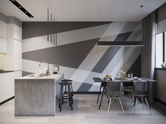 Salmon Lair / Interior design studio / Проект квартиры 72 м2 / Москва
