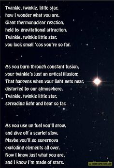 Twinkle Twinkle Little Star Science'd…