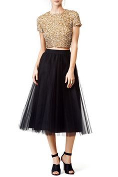 2458c8da0a089 Buy Gold Dust Top by Badgley Mischka for  43 from Rent the Runway.