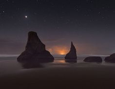Bandon Blood Moon by Deb Harder on 500px