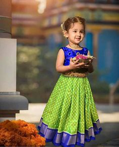 New arrival of ikkat lehengas for one kids up to 3 years For more details please contact me in WhatsApp at Kids Dress Wear, Kids Gown, Dresses Kids Girl, Kids Wear, Kids Outfits, Baby Dresses, Baby Lehenga, Kids Lehenga, Lehenga Designs