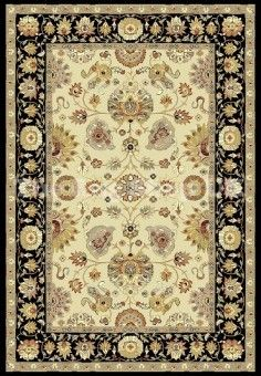 Noble Art 6539 194 Traditional Brown Beige Rug