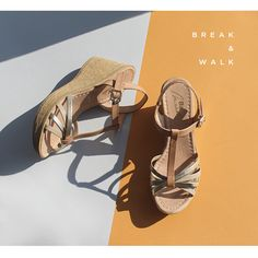 MUST HAVE #SUMMER // High Quality Materials  • Shop online | www.breakwalk.com   #shoes #sandals #quiality #summer #heels #woman