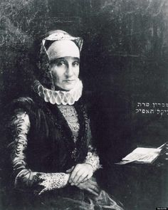 Glückel of Hameln (1645-1724)  Wrote a memoir of Jewish life in Central Europe covering the second half of the 17th and early 18th Centuries. Her book is an important description of what Jewish life was like at that time.