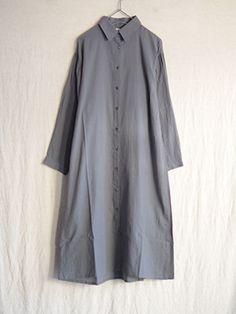 Antiquités Azuma-Daki dyeing boil gather shirts one piece (#61028)