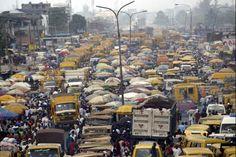 ictures of lagos,nigeria   Lagos nigeria traffic commuter rail 2011 5 19   GlobalPost