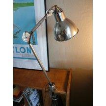 Lampe Champignon Unilux Des Annees 70 Blanche Vintage Et Desgn