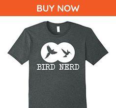 Mens Bird Nerd Birding Chasing Fun T-Shirt 2XL Dark Heather - Animal shirts (*Amazon Partner-Link)
