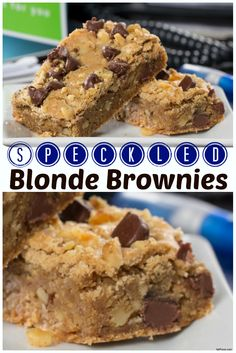 Make them feel special by baking up these 100% homemade Speckled Blonde Brownies.