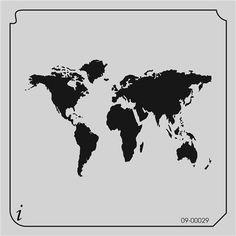 09-00029 World Map