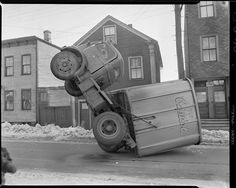 1940s-1950s: Auto accidents, Boston