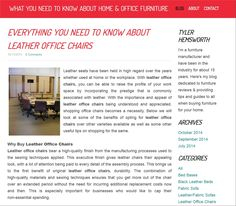 http://homeandofficefurniture.weebly.com/blog/everything-you-need-to-know-about-leather-office-chairs Leather Office Chairs Here's everything you need to know about leather office chairs.