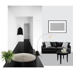 """""""minimal"""" by akaclem on Polyvore featured in top home set! http://society6.com/clemm/silver-19P_Pillow"""